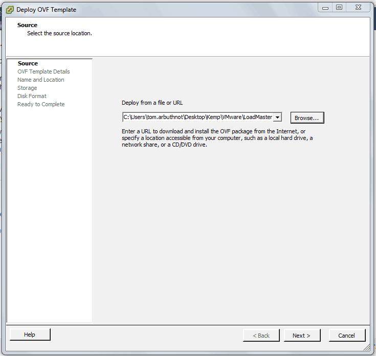 Deploying A Kemp Virtual Load Balancer In Vmware Esxi Tom
