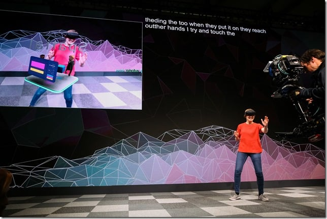 "Microsoft Mobile World Congress ""Matterhorn"" Press Briefing in Barcelona, Spain, Sunday, February 24, 2019."